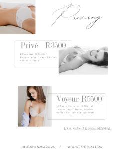 boudoir photography prices